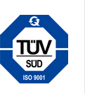 TUV SUD ISO 9001 Quality Certificate